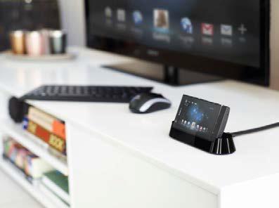 SmartDock für Xperia P