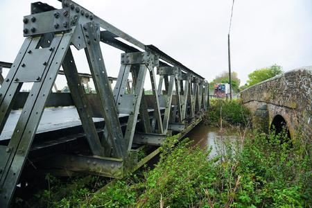 Aufgrund der noch vorhandenen Zinkschichtdicken besitzt die Brücke das Potenzial mehr als 100 Jahre alt zu werden (Foto: Iqbal Johal)