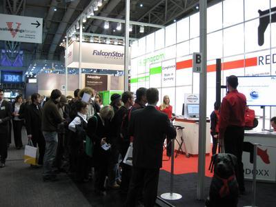 Messestand CeBIT 2009