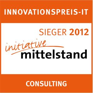 Kategoriesieger Consulting des INNOVATIONSPREIS-IT 2012: Die Technagon GmbH