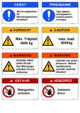 [PDF] Die Vielsprachigkeit verursacht bei der Herstellung von Sicherheitskennzeichen große Varianzen