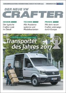 Sonderpublikation International Van of the Year 2017: Der neue Volkswagen Crafter