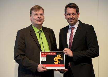 Robotics Award 2016 Preisverleihung