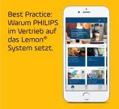 Wissen on demand bei Philips – mit Lemon