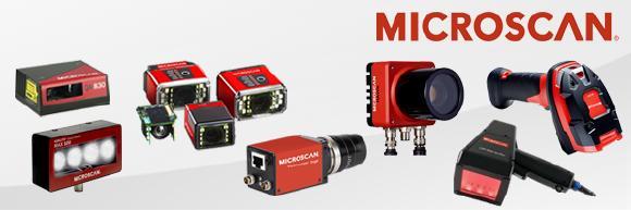 Microscan Kameras und Scanner