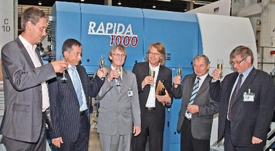 1,000th big Rapida soon to leave Radebeul for Berlin-Mitte