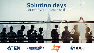 Solution Days für Pro AV & IT Profis