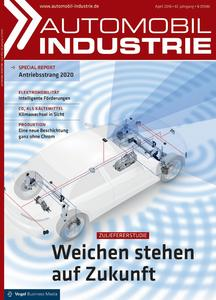 "Berylls-Studie ""Global Top Automotive Suppliers"" in der aktuellen ""Automobil Industrie"", Ausgabe April 2016 (Foto: Vogel Business Media)"