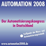 Großes Interesse an AUTOMATION 2008