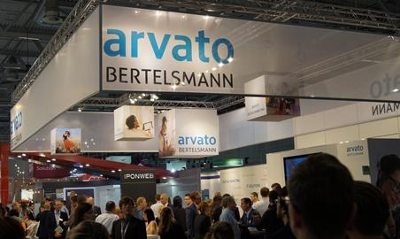 The arvato booth at dmexco 2015 was very well attended.