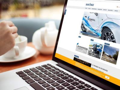 Das responsive Webmagazin von Rheinmetall Automotive ist auf sämtlichen Betriebssystemen und Geräten verfügbar / Bild: Publik. Agentur für Kommunikation
