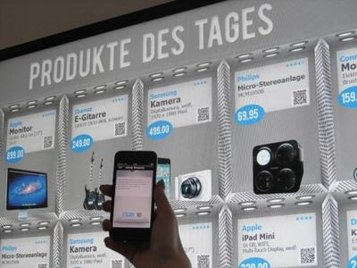 Infinity Shopping Shelf: Elektronische Sortimentsergänzung