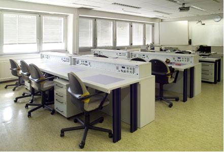 Schulungsraum der Lufthansa Technical Training