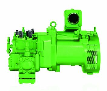 The universal BITZER OSKA8591 screw compressors were designed for use in large-scale commercial and industrial applications