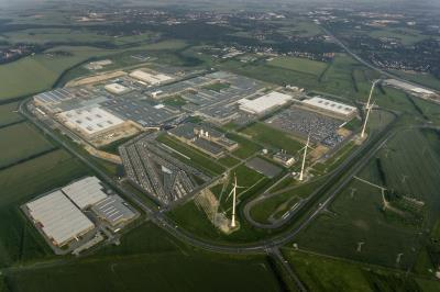 From now on, CHP plant use at the Leipzig factory of the BMW Group (see picture) will be optimized by ProCom forecasts and schedules / Photo: BMW PressClub Germany