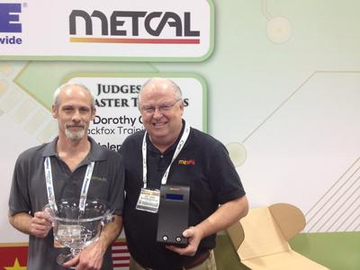 Metcal Awards Winner of Third Annual IPC APEX EXPO Hand Soldering Competition and IPC World Championship