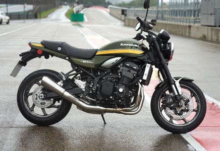 Image description: New Segment for thyssenkrupp Carbon Components: The café-racer Kawasaki Z900RS