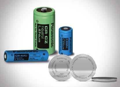 Neue Lithium-Primär-Batterien von Panasonic: Der Marktführer hat neue Knopfzellen und zylindrische Modelle für Hoch- bzw. Niedrigtemperaturanwendungen entwickelt