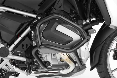 Protects the new ShiftCam cylinder head particularly effectively: Wunderlich engine guard with extension