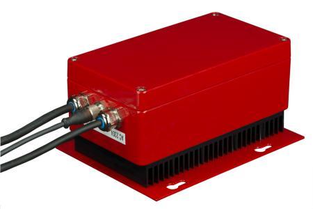 Die Technik des Ladeerhaltungsgeräts EL24 von Nortec Electronics ist sicher in einem robusten Aluminiumdruckguss-Gehäuse von ROSE Systemtechnik untergebracht