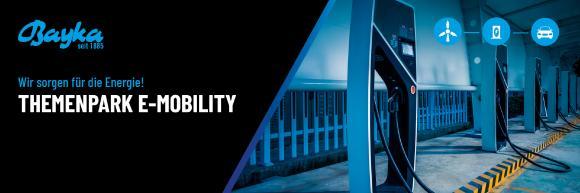 Bayka Themenpark bietet Orientierung zu Kabeln für die E-Mobilität