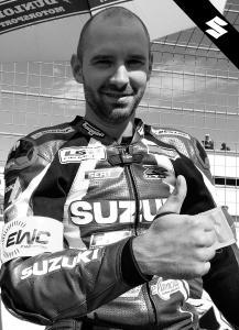 Suzuki trauert um Anthony Delhalle