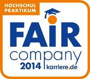 arvato Systems has the official new Fair Company 2014 seal of certified fairness