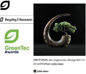 """Green Lantern"" of ARBOFORM® by Romolo Stanco"
