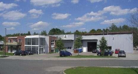 Produktionshalle der AGK Hochleistungswerkstoffe GmbH in Dortmund