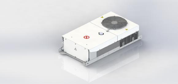 Die modulare Batteriekühlung zeta.line für mobile Anwendungen stellt ein konstantes Temperaturprofil für langfristige Leistungsfähigkeit sicher.
