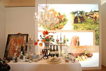 Thema Kulinarik im Pavillon