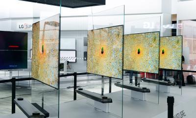 LG SIGNATURE OLED TV auf der CES: Fernseh-Design der Zukunft