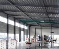 Abbildung 2: Durch die Feuerverzinkung der Stahlkonstruktion wurde der R30-Brandschutz im Cruise Terminal Baakenhöft erreicht. (Foto: Institut Feuerverzinken)