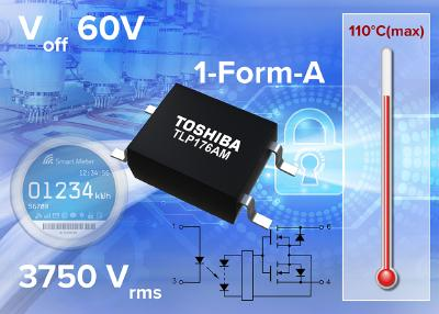 Toshiba releases medium voltage photorelay for industrial applications