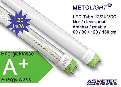 METOLIGHT LED Röhre 12/24 Volt