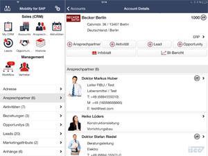ISEC7 veröffentlicht zur CeBIT ISEC7 Mobility for SAP für SAMBA!