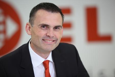 Thomas Klein, CEO der Unternehmensgruppe Elsen, und sein Team informieren auf der transport logistic in München über innovative Komplettlösungen für eine moderne Supply Chain
