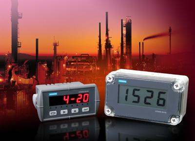 Sitrans RD100 and RD200 remote displays from Siemens A&D can be used with all types of field instruments in varying process conditions, and are easy to set up and program
