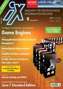 Titelbild der aktuellen iX-Ausgabe 9/2011