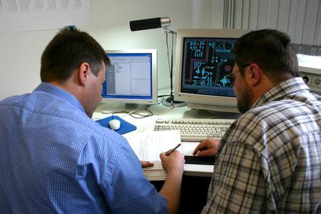 MAZeT-Mitarbeiter/PCB-Layout