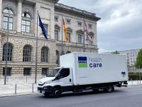 Schutzequipment Lieferung an das Abgeordnetenhaus in Berlin 2020