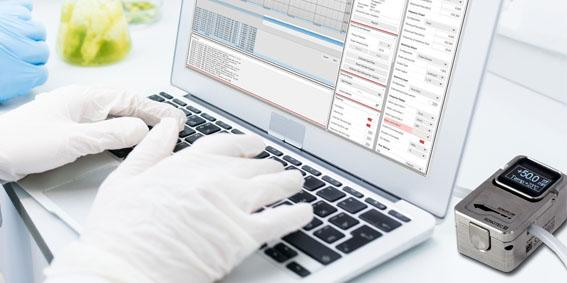 Non-invasive SONOFLOW | Flow Sensors & SONOFLOW | C³ Software: The user-friendly smart sensoring package for application in laboratory 4.0, R&D, and single-use production environments (source: SONOTEC, Adobe Stock)
