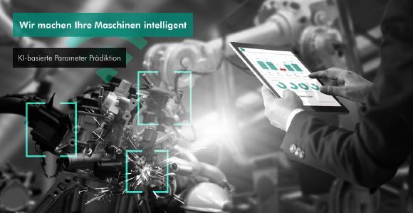 Wir machen Ihre Maschinen intelligent mit KI-basierter Parameter Prädiktion.