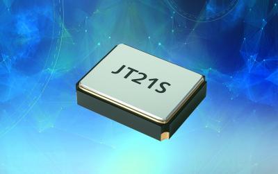 Dank seiner exzellenten Frequenzstabilität von 0,5 ppm eignet sich der JT21S insbesondere für den Einsatz in Wireless-Applikationen.