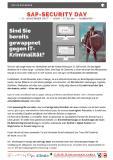 [PDF] Veranstaltungsflyer OSC SAP-Security Day