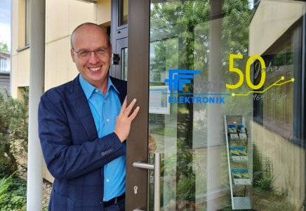 Will der Fritsch Elektronik neue Türen öffnen: Dieter Geist sieht in der inhaltlichen Neuausrichtung von Einkauf und Auftragsdisposition gute Chancen für die weitere Entwicklung seines neuen Auftraggebers im Markt