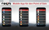 COSYS Point of Sale App für Android und iOs