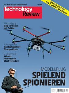 Das Titelbild der aktuellen Technoligie-Review 12/2009