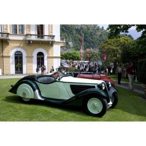 75 years of BMW roadsters, Concorso d'Eleganza Villa d'Este 2009 (04/2009)