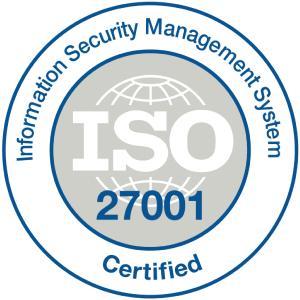 SoftProject ist ISO-zertifiziert nach ISO/IEC 27001:2013